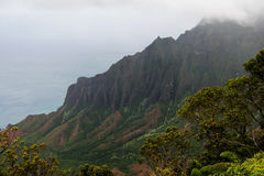 Kalalau Lookout Royalty Free Stock Photo