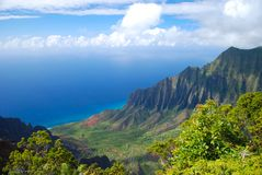Kalalau Valley Royalty Free Stock Images