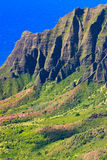 Kalalau Valley, Kauai Stock Photo