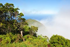 Kalalau Valley Overlook, Kauai (Hawaiian Islands) Royalty Free Stock Photography