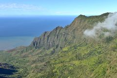 Kalalau Valley Royalty Free Stock Photography