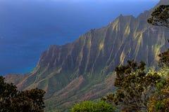 Kalalau Valley Tranquility stock photography