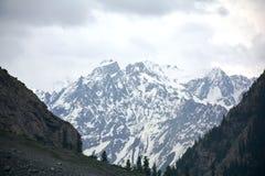 Kalam Swat, άποψη Mitiltion Στοκ φωτογραφία με δικαίωμα ελεύθερης χρήσης