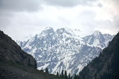 Kalam Swat, Mitiltion view Royalty Free Stock Photography