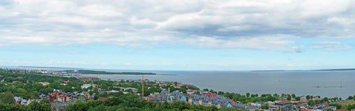 Kalamaja microdistrict in Tallinn. Stock Photos