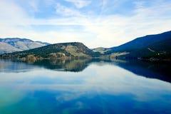 Kalamalka湖 免版税库存图片