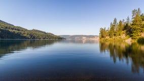 Kalamalka jezioro w kolumbiach brytyjska Obrazy Royalty Free
