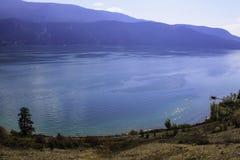 Kalamalka Lake. Of many colors Vernon bc canada Royalty Free Stock Images