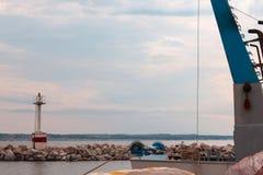 Kalamaria маяка Стоковое Фото