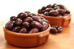 Kalamata-Oliven Lizenzfreies Stockfoto