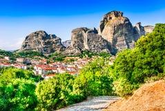 Kalambaka, Greece Royalty Free Stock Photography