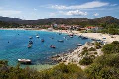 Kalamitsi, Sithonia, Grécia Foto de Stock