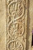 Kalamkari druki na Kamiennych filarach Obraz Royalty Free