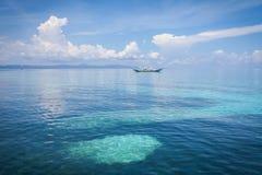 Kalanggaman wyspy leyte Philippines Obrazy Stock