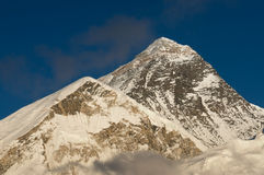 从Kalapatthar观点的珠穆琅玛山 库存图片