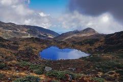 Kalapokhri jezioro, Dzuluk, Sikkim Zdjęcie Stock