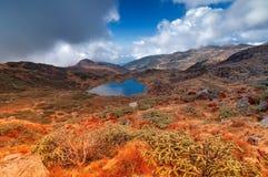 Kalapokhri sjö, Sikkim, Himalayan bergskedja, Sikkim Royaltyfria Foton