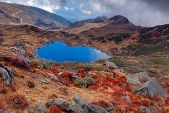 Kalapokhrimeer, Sikkim, Himalayan-Bergketen, Sikkim Royalty-vrije Stock Afbeeldingen