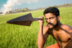 Kalari, indian martial art Royalty Free Stock Images