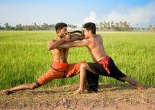 Kalari, indian martial art Stock Photography