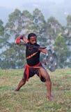 Kalaripayattu Martial Art in Kerala, India Royalty Free Stock Photography