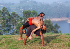Kalaripayattu Martial Art in Kerala, India Stock Image