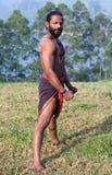 Kalaripayattu Martial Art in Kerala, India Stock Photography
