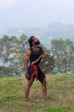Kalaripayattu Martial Art in Kerala, India Stock Images