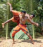 Kalarippayat,  indian ancient martial art Stock Photos