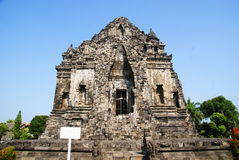 Kalasan tempel arkivfoto