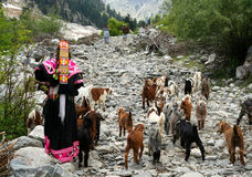 Kalasha people Stock Photos