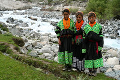 Kalasha people Royalty Free Stock Image