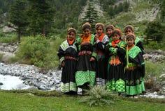 Kalasha people Royalty Free Stock Photography
