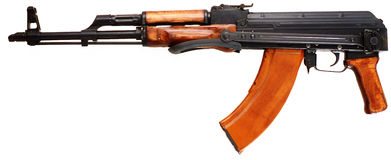 Kalashnikov Royalty Free Stock Images