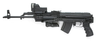 Kalashnikov Royalty-vrije Stock Foto's