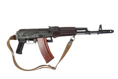 Kalashnikov airborne assault rifle Stock Photo