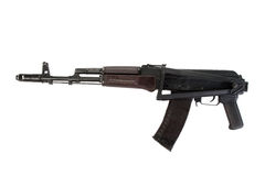 Kalashnikov airborne assault rifle Royalty Free Stock Photo