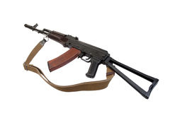Kalashnikov airborne rifle ak Stock Photos