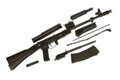 Kalashnikov ak-105 machinegeweer Stock Afbeeldingen