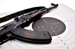 Kalashnikov Ak 74 Stock Image
