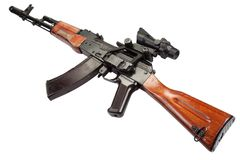 Kalashnikov AK assault rifle Stock Images