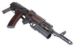Kalashnikov AK 74 com o lançador de granadas GP-25 Fotografia de Stock Royalty Free