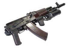 Kalashnikov AK 74 com o lançador de granadas GP-25 Imagens de Stock