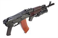 Kalashnikov AK 74 with GP25 grenade launcher Royalty Free Stock Photo