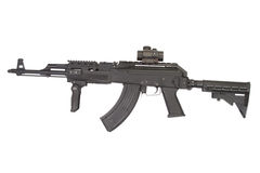 Kalashnikov AK47 with modern accessories Stock Image