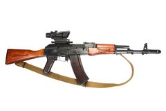 Kalashnikov ak 47 Stock Images