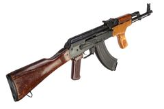 Kalashnikov AK 47 Romanian version Royalty Free Stock Photos