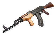 Kalashnikov AK 47 Romanian version Stock Photo