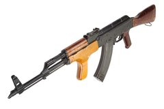 Kalashnikov AK 47 Romanian version Stock Photography