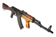 Kalashnikov AK 47 Romanian version Royalty Free Stock Image